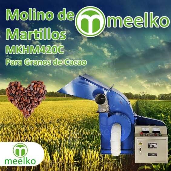Molino de martillo mkhm420c para granos de cacao
