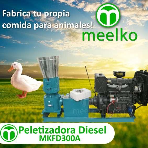 Peletizadora mkfd300a para comida de patos