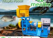 Extrusora MKED040C 5.5kW pellets flotante para peces