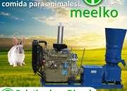 Peletizadora Diésel MKFD360A, alimento de conejo