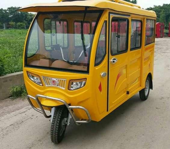 Triciclo de 6 pasajeros