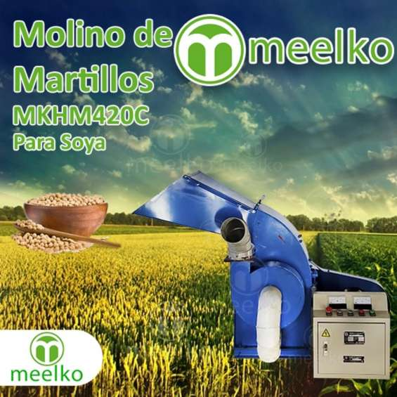 Fotos de Molino de martillo mkhm420c (soya) 1