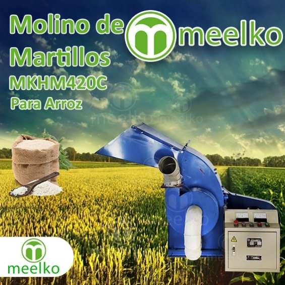 Fotos de Molino de martillo mkhm420c (arroz) 1