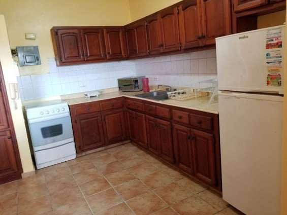 Renta apartamento amoblado 1 habitacion gazcue