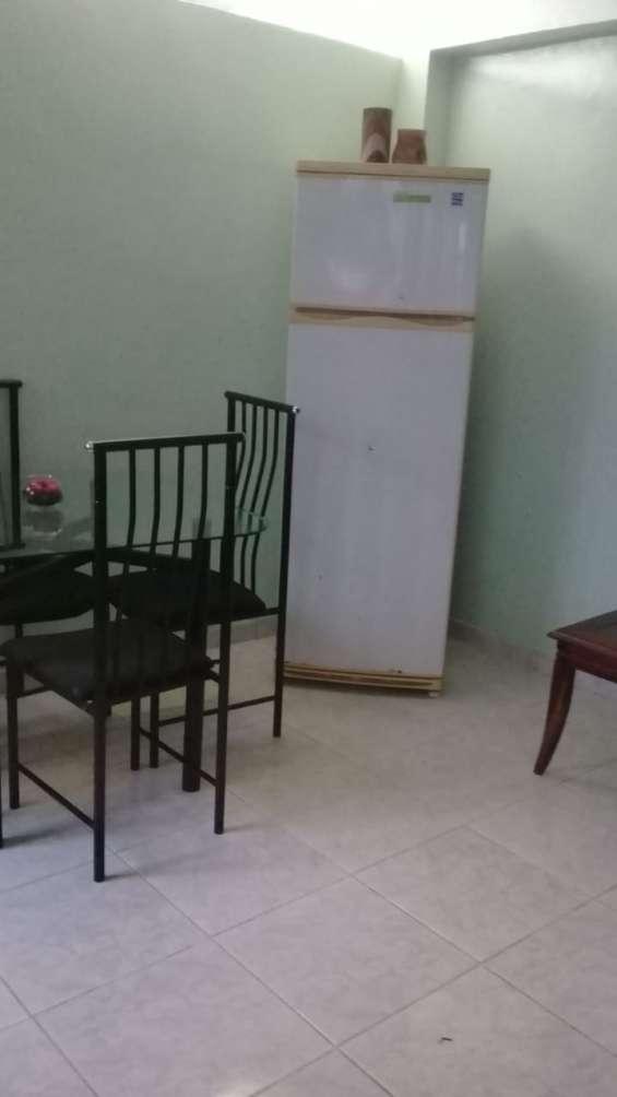 Alquiler apartamento amueblado en miraflores 1 habitacion , unibe, gazcue