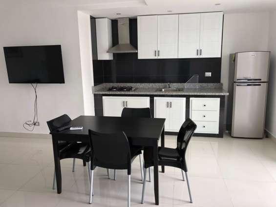 Apartamento apartamento amueblado de 3 habitaciones en  zona universitaria