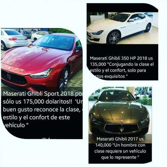 Carros deportivos, elija el suyo y escriba whatsapp!