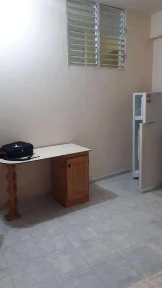 Alquiler, apartamento estudio,  gazcue, próximo a centu