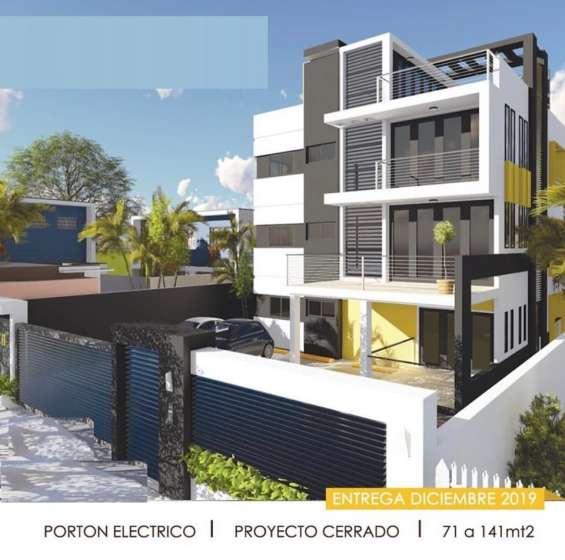 Apartamento, proyecto nuevo, santo domingo este