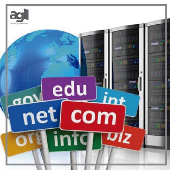 Dominios y hosting para empresas