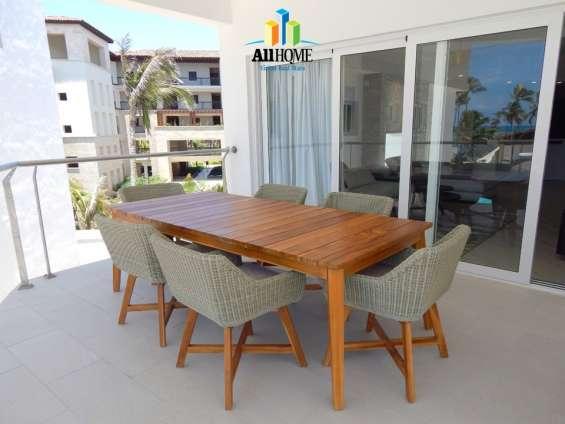 Apartamento amueblado de 3 habitaciones en punta cana rd us$ 825,000