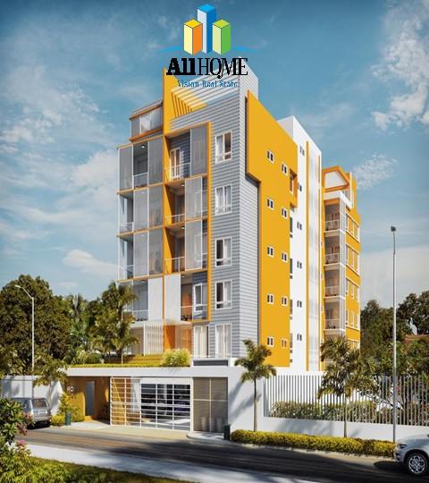 Apartamentos en construcción, el millón, distrito nacional
