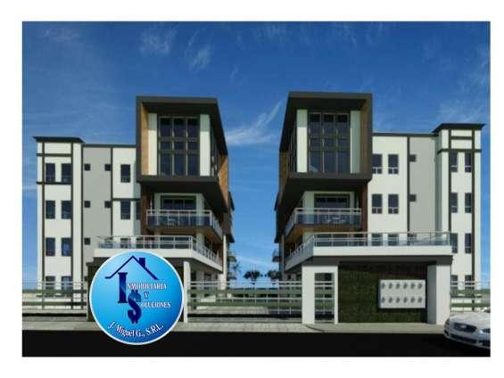 Apartamentos en vista hermosa de 3 habitaciones